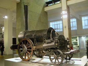 George Stephenson gőzmodonya.